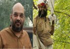Amit Shah meets Gajendra Singh's family
