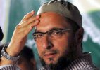 Congress leader attack Owaisi surrenders before police, granted