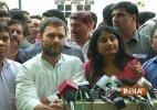 Rahul Gandhi meets aspiring flat owners, slams NDA govt's Real Estate Bill