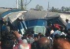 2 coaches of Janta Express train derail in Raebareli, 15 dead