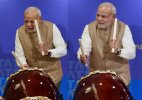 When PM Modi played drums at Japan (Watch video)
