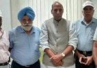 Ex-servicemen meet Rajnath Singh, seek early implementation of OROP