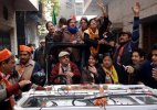 Delhi Polls: Kiran Bedi campaigns in south Delhi, tweets vision document