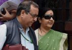 Tell how many times you met Lalit Modi, Congress asks Sushma Swaraj