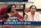 Kumar Vishwas 'affair' row: High-voltage drama at DCW press conference, Juhi Khan quits panel