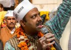 AAP MLA Pankaj Pushkar to launch agitation against Delhi govt