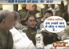 Haryana minister Anil Vij walks out woman SP