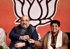Delhi polls: BJP's chief ministerial candidate face missing from posters