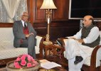 J&K Governor meets Jaitley, Rajnath Singh