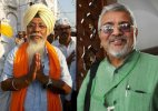 AAP suspends MPs Dharamavira Gandhi and Harinder Singh Khalsa from party