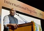 Terrorists are 'gyaani', should practise yoga: Rajnath Singh