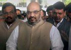 Shah meets Bhagwat, said to have discussed J&K, land bill