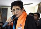Kiran Bedi gets lukewarm response in Trilokpuri