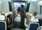 PM Modi travels in Delhi Metro from Dhaula Kuan to Dwarka