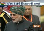PM Modi wears colourful Rajasthani turban for R-Day