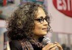 Arundhati Roy NDA govt promoting Brahmanism Hindu Rashtravad