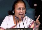 Was compelled to take stringent action: Sumitra Mahajan