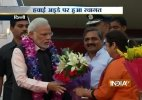 PM Modi returns after concluding successful three-nation tour