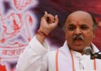 VHP is against acquisition of farmers' land: Pravin Togadia