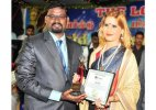 BJP leader Ruby Yadav honoured with 'World Peace Award'