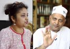 Somnath Bharti ill treated me as I'm average looking woman, taunts his wife