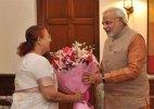 PM Modi wishes Speaker Sumitra Mahajan on birthday