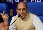 Congress, BJP clash over Rajnath's 'Hindu terrorism' remarks