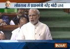 PM Narendra Modi Lok Sabha constitution discussion
