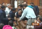 BJP MLA Vijender Gupta carried out of Delhi Assembly by marshals