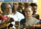 Murder of democracy, says Sonia Gandhi on MPs suspension
