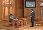 Army should return to barracks in Kashmir, PDP chief Mehbooba Mufti tells Rajat Sharma in Aap Ki Adalat