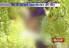 Man Commits suicide by hanging himself from a tree at AAP rally