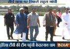 Rahul Gandhi reaches Kedarnath