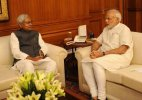 After 34 months, Nitish Kumar meets Narendra Modi