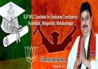 BJP wins Telangana council seat