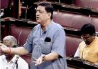 Who is senior: Member of Rajya Sabha or Lok Sabha, SP MP asks