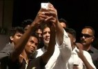 Now Rahul Gandhi poses for Selfie