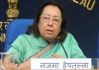 Not just today, Muslims feeling alienated since 1947: Najma Heptulla