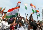 Congress workers block National Highway over AIIMS issue