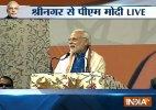 Our mantra is 'Sabka Saath, Sabka Vikaas': PM Modi in Srinagar