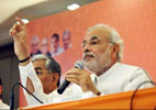 Live reporting: Modi says, Rahul lecturing as if he has come from Mars
