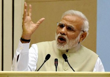 PM Modi attacks Opposition for projecting Land Bill as anti-poor