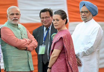 PM Modi invites Sonia Gandhi, Manmohan Singh over tea to break GST logjam