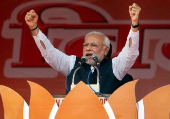 BJP asks its MPs to listen PM Modi's Mathura rally live