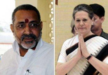 Giriraj Singh expresses regret over his 'white-skin' jibe on Sonia Gandhi