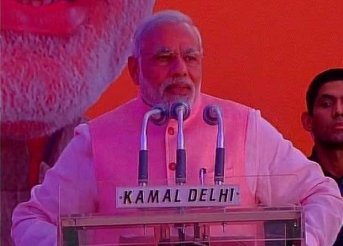 You have turned pen into broom, Narendra Modi tells journalists