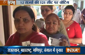 Live: LS Polls 2014, Polling begins for 121 seats