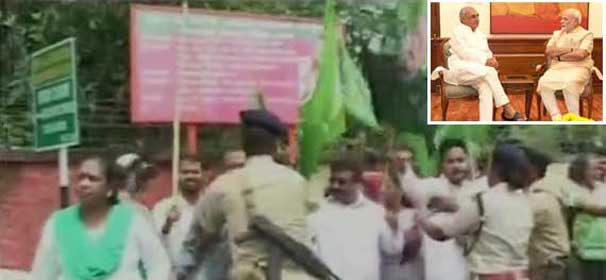 Heckling of CMs: BJP-JMM workers clash in Ranchi, Modi extends olive branch to Hooda