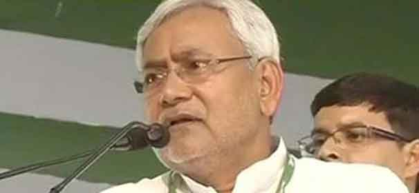 Muslims get frightened on hearing Modi's name, Nitish tells Bihar rally