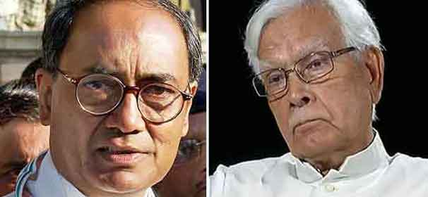 Natwar Singh's book aimed at creating platform for his BJP MLA son, says Digvijay Singh